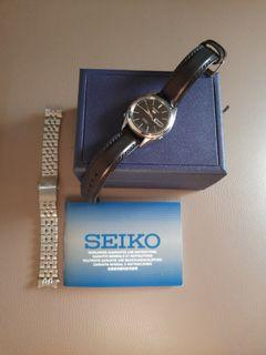 SEIKO 5 SNKL23 WITH LEATHER STRAP