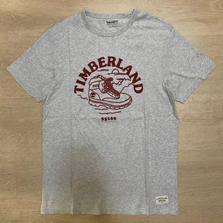 Timberland T恤 短T 刺繡 穿搭 字體 logo