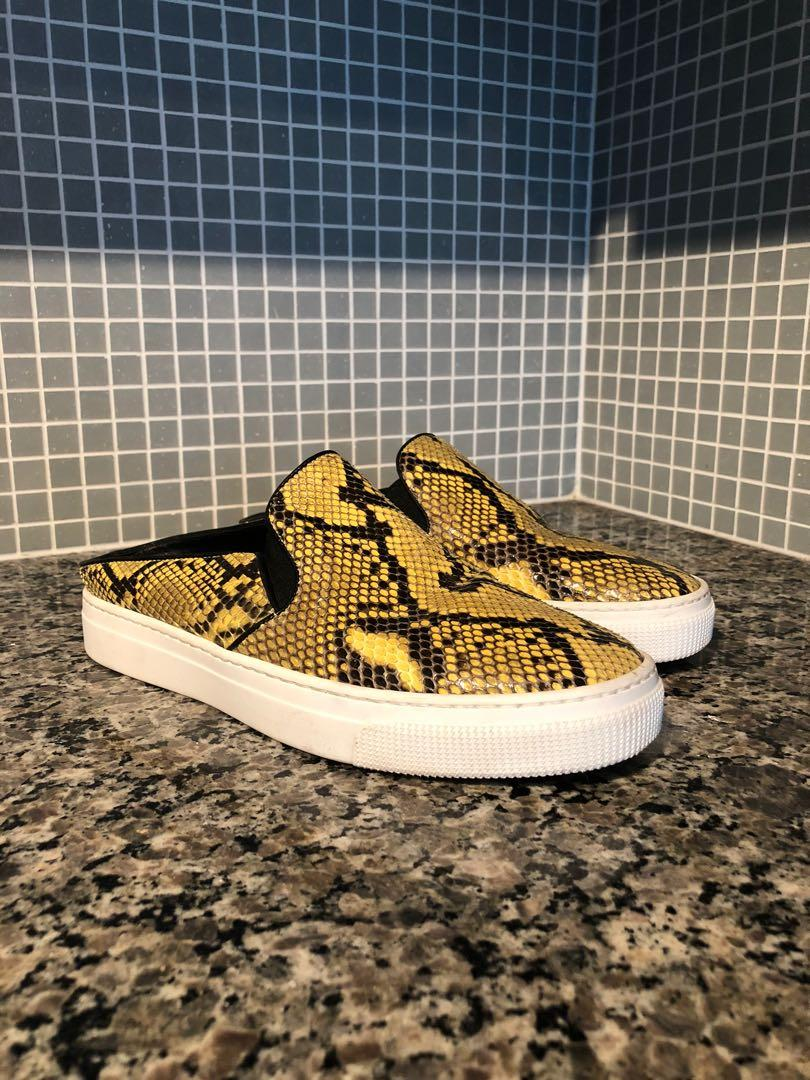 ZCD Montreal SnakeSkin Leather Shoes