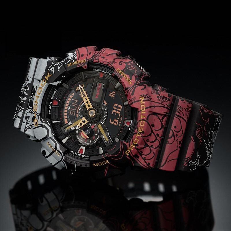 [100% Original] G-Shock  x ONE PIECE Digital Sport Quartz Watch