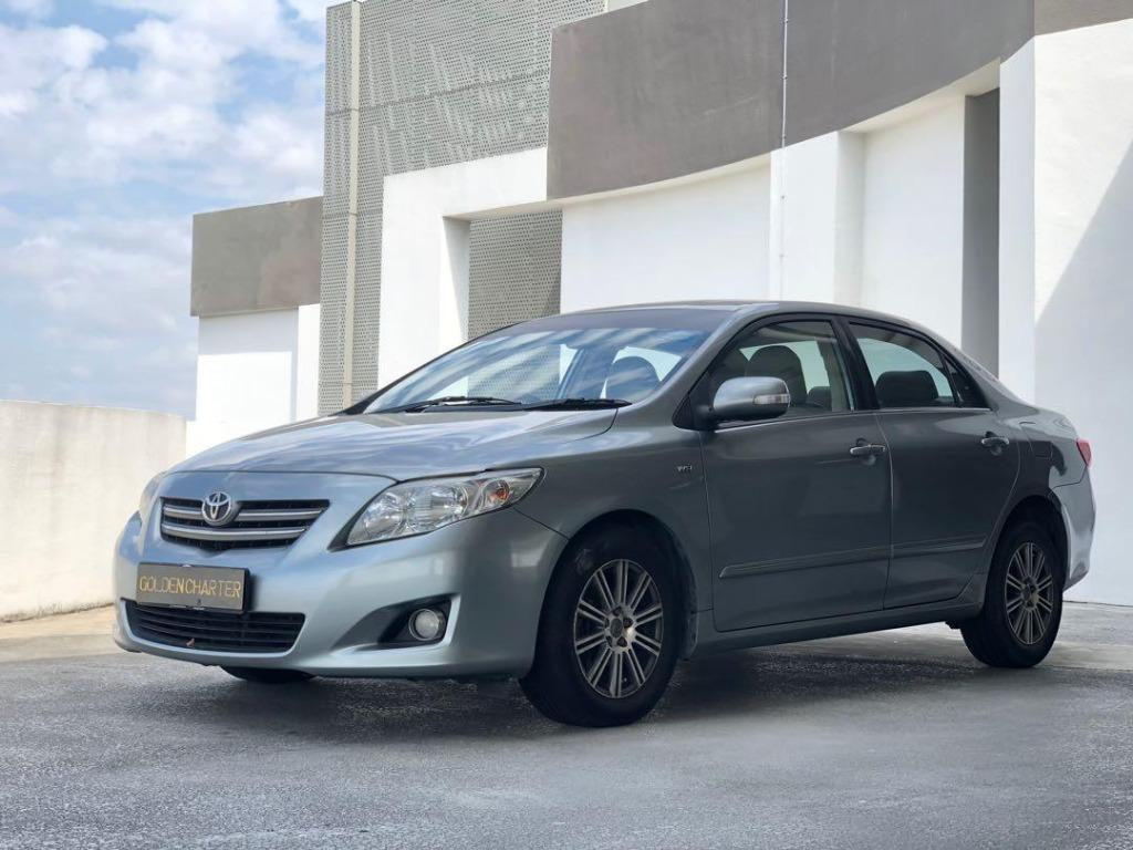 11/09 Call 8615 8615 Jenny Now | Toyota Altis For Rent ! Personal Use, PHV, Gojek Rebate, LALAmove, Grab ! Rent Car ! Car Rental ! Cheap Rental Car ! Get up to 14 days free rental when you sign up !