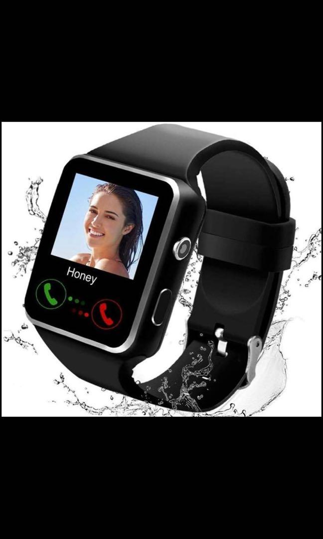 2020 Smart watch cellular and Bluetooth and camera and waterproof for IOS&ANDROID