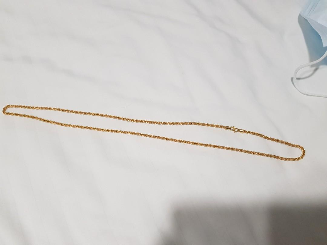916 Gold Necklace(9.97g)