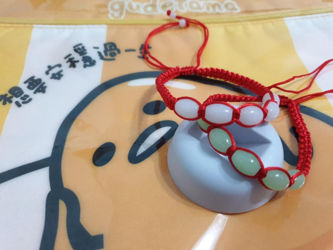 岫玉編織手環