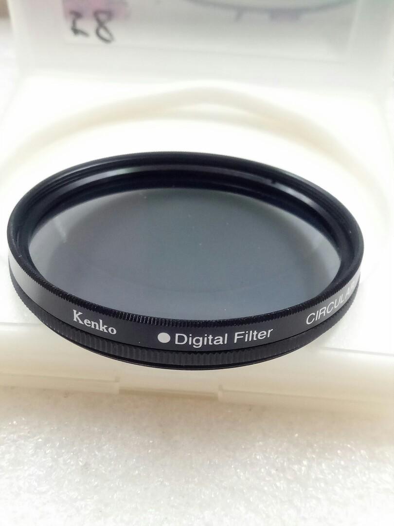 相機鏡頭偏光鏡片 58m
