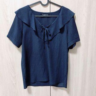 東京著衣 Imoda 雪紡造型領襯衫
