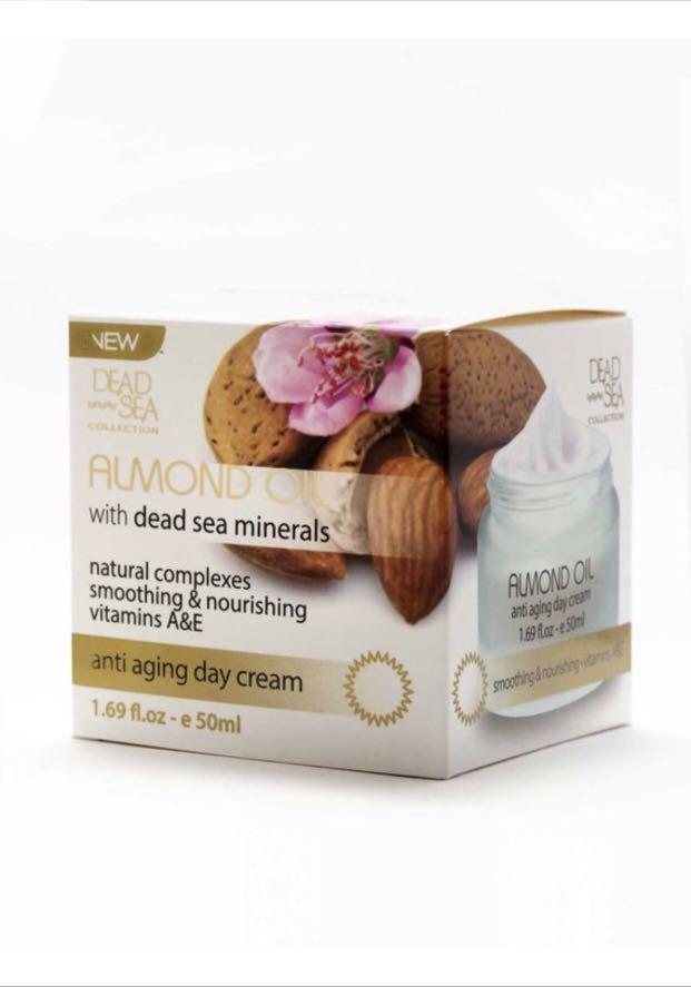 Almond Oil Anti Aging Day Cream