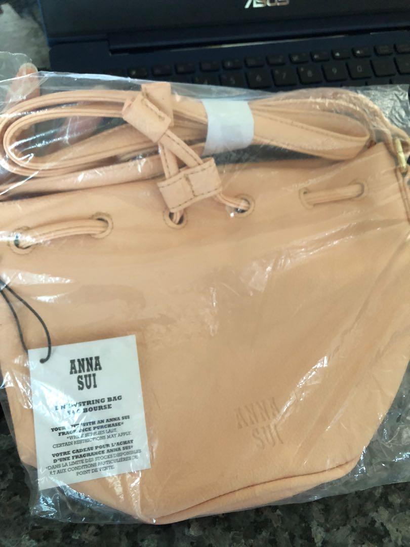 Anna Sui Drawstring Bag