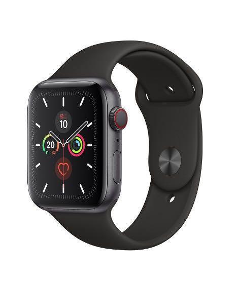 Apple Watch 第五代 44mm 太空灰 行動上網版 (錶帶全新)