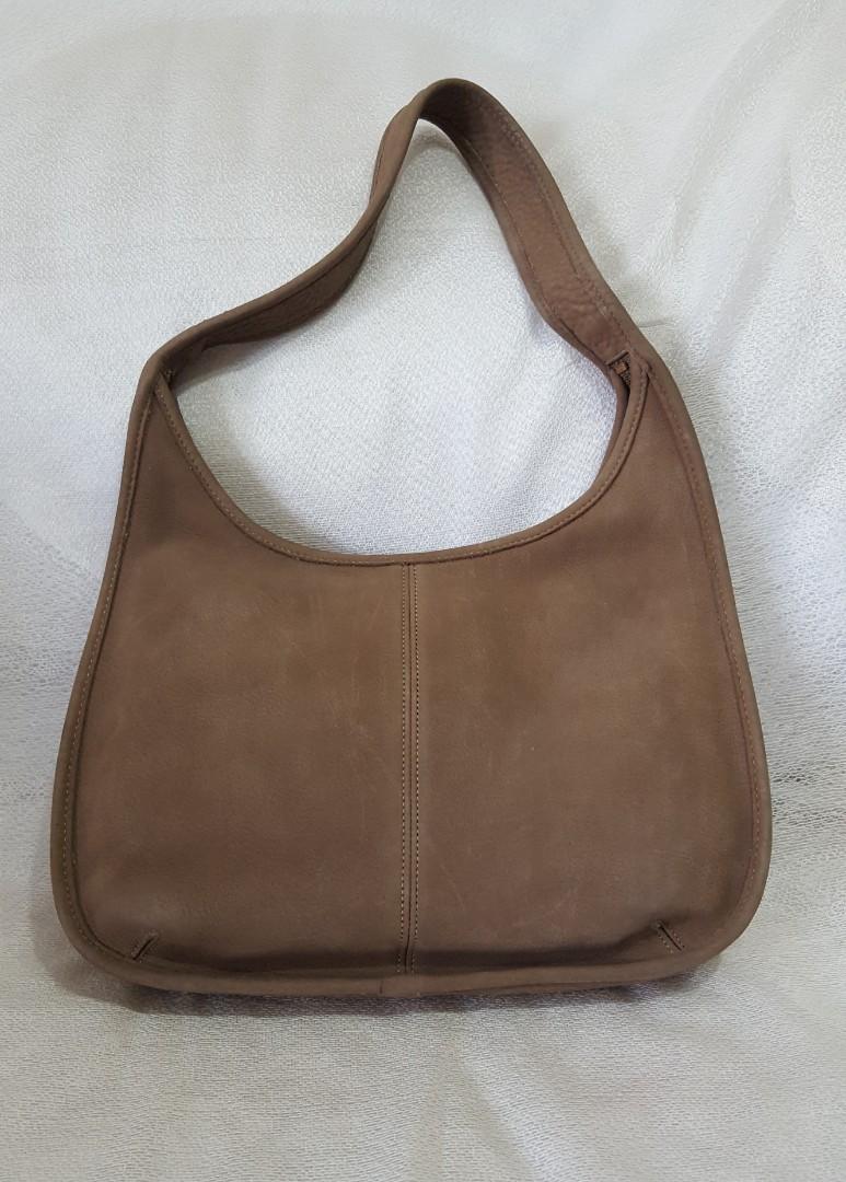 Auth Coach Leather shoulder bag