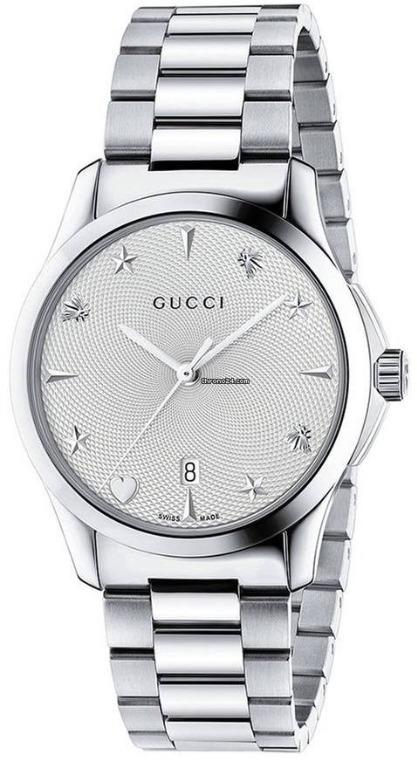 Authentic - GUCCI Mod. YA1264028A Unisex Watch