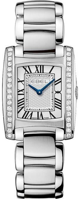Authentic Luxury 1216068 - EBEL Mod. BRASIALIA MINI Lady Quartz 23.7mm Watch