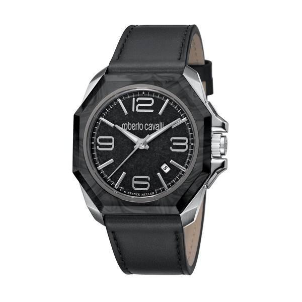 Authentic Luxury- ROBERTO CAVALLI by FRANCK MULLER WATCHES Mod. RV1G076L0051 Men Watch