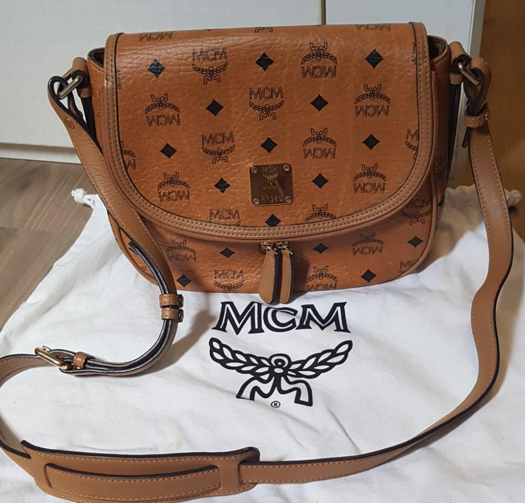 Authentic MCM bag