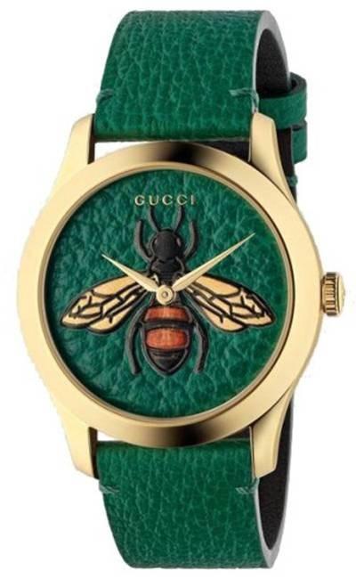 Authentic YA1264065 - GUCCI Mod. BEE MOTIF Lady Watch