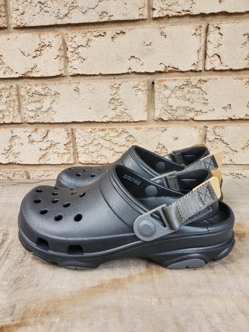 Black Crocs