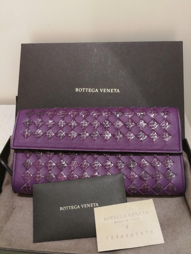 Bnib Bottega Veneta Unique Wallet Authentic