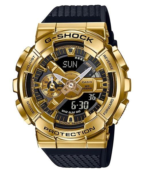 [Brand New] Casio G-Shock GM-110G-1A9 Metal Covered Gold