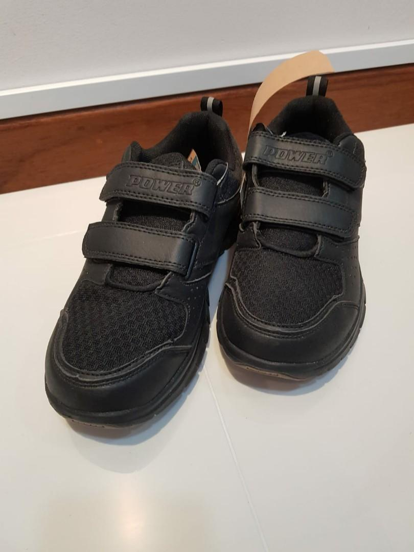^^BRAND NEW^^ POWER BLACK SHOES KID ( Suitable for 11-13 years old)