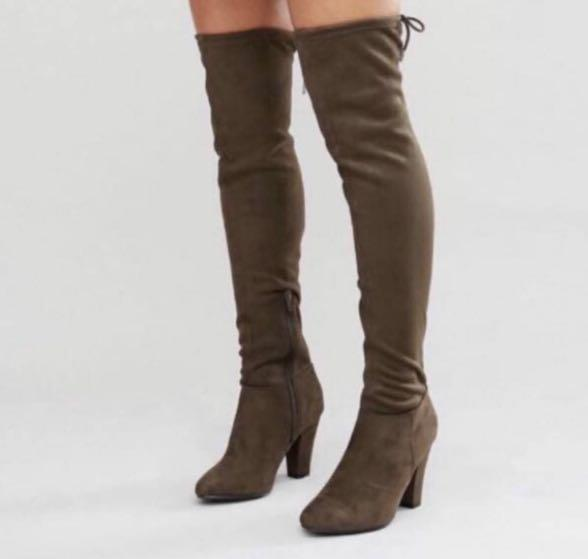 Call it spring thigh high boots - 7 women's