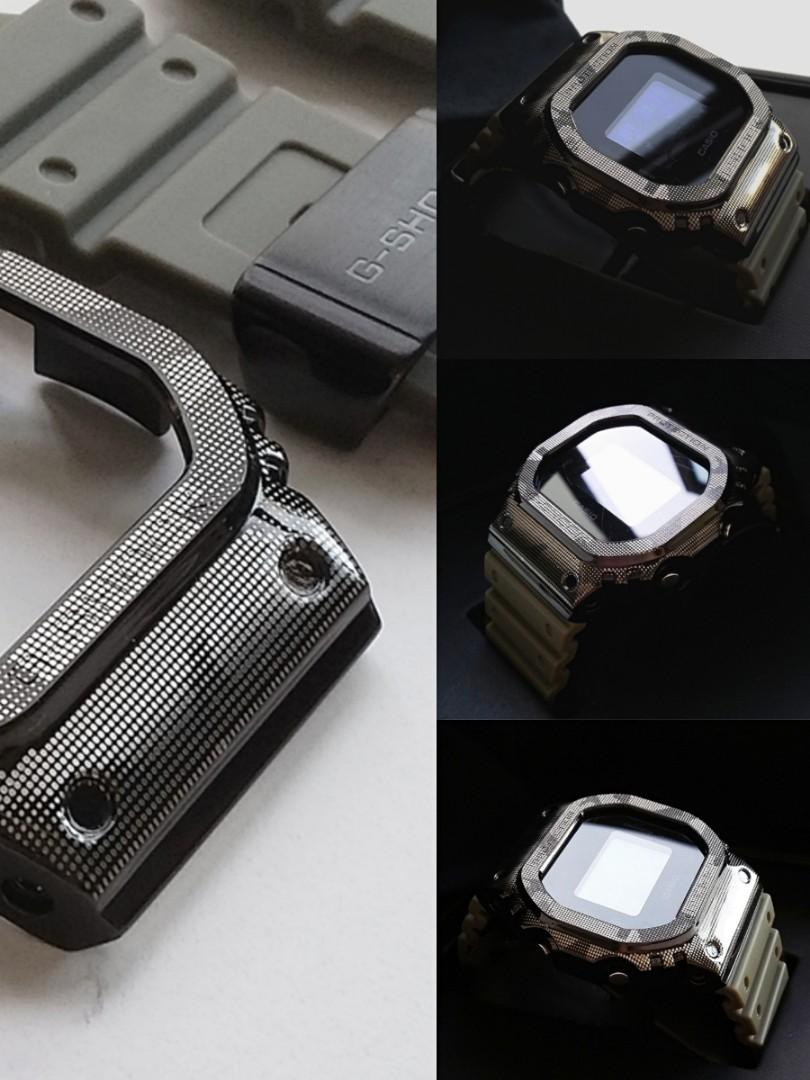 FORGED  STEEL CAMOUFLAGE WATCH CASE & RUBBER STRAP FOR CASIO G-SHOCK DW5600, G5600, DW5000, DW5025,DW5030, DW5035,DW-B5600, GW-B5600, GWX 5600, GB 5600, GMX-5600MS, DW5610, G 5600E, GW-M5610, GW-M5600, GLX-5600, GLS-5600, GW-M5630, GW-S5600, DW-D5600