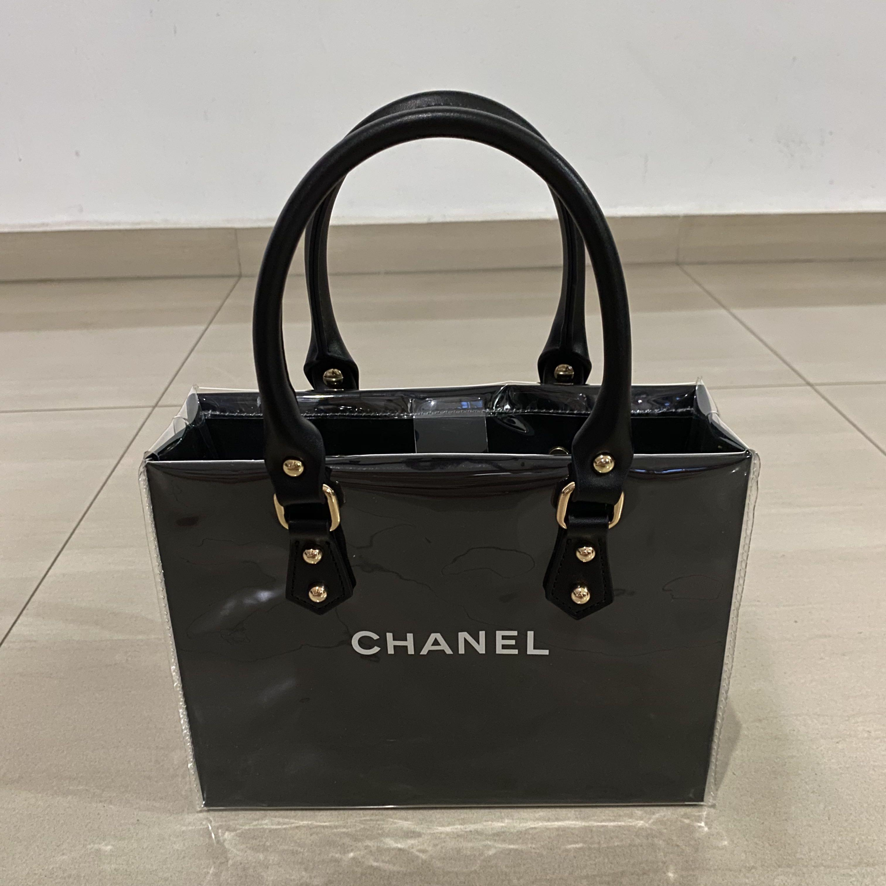 Chanel repurposed handbag pvc
