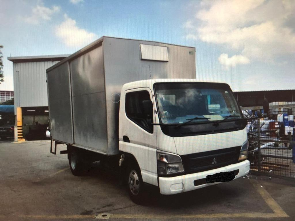 CHEAP MITSUBISHI CANTER 14 FT WITH BOX