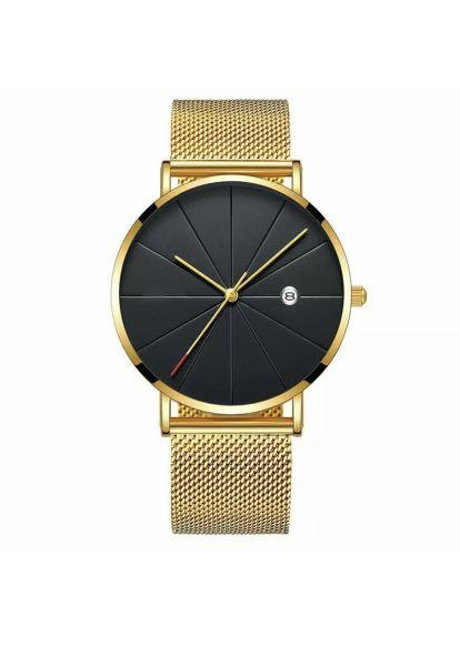 Classic Watch for Men's Gold