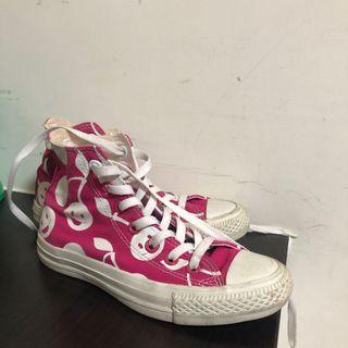 Converse櫻桃高筒帆布鞋🍒
