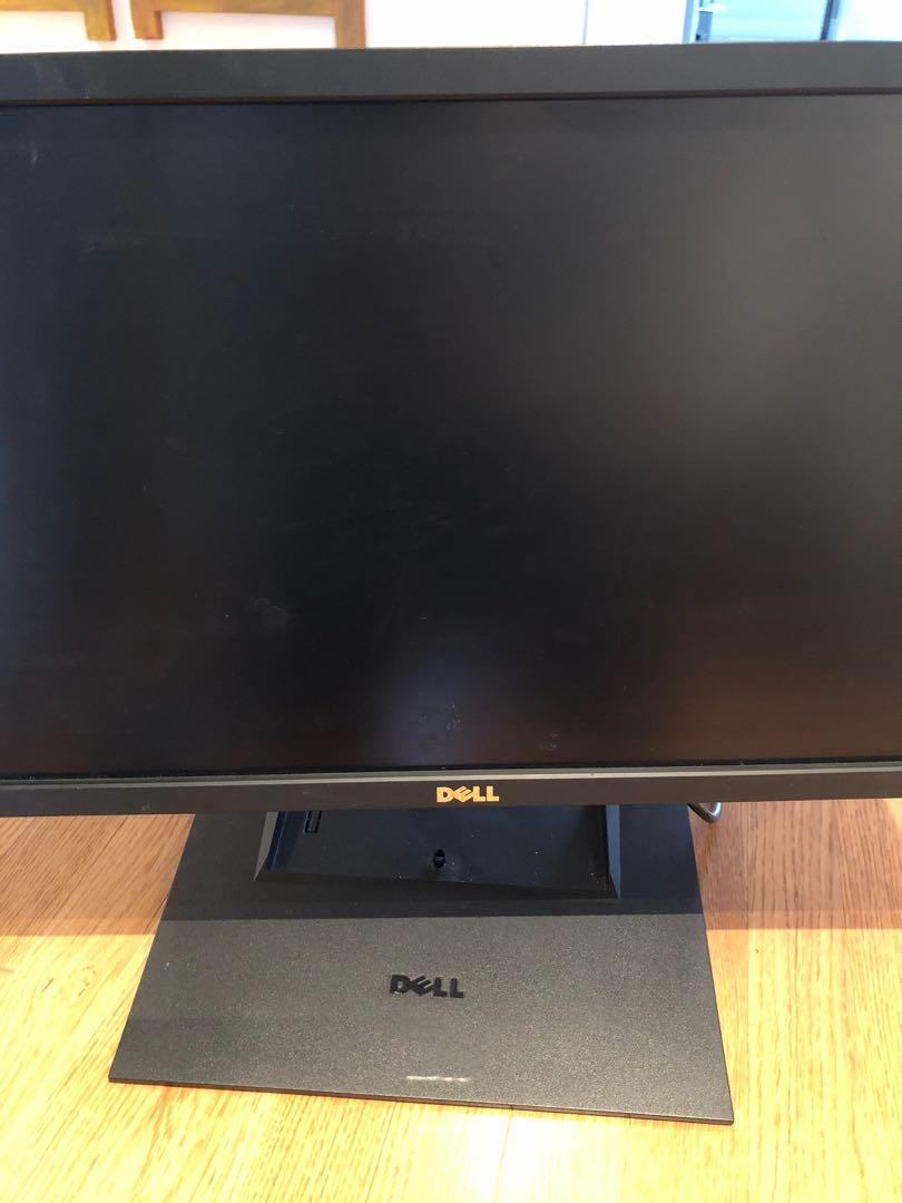 "Dell G2410t 24"" HD Flat Panel Full-Tilt Computer Monitor"