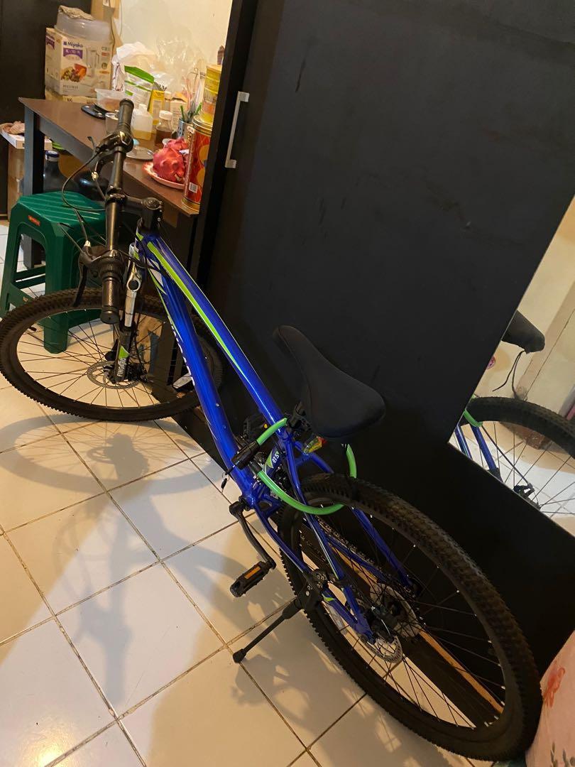 JUAL CEPAT  SECOND Fingard Sepeda Mtb Xc 80d - biru