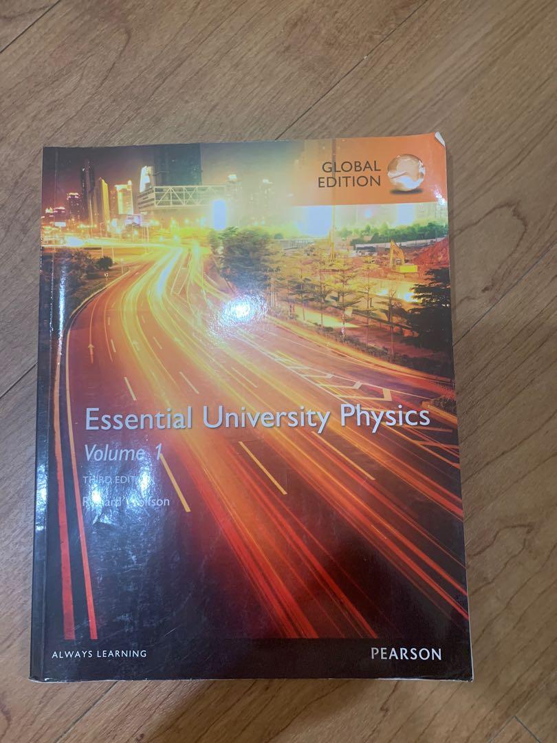原文書Essential university physics 上冊