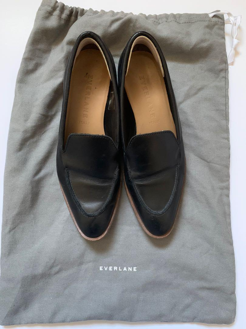 Everlane Classic Black Loafer