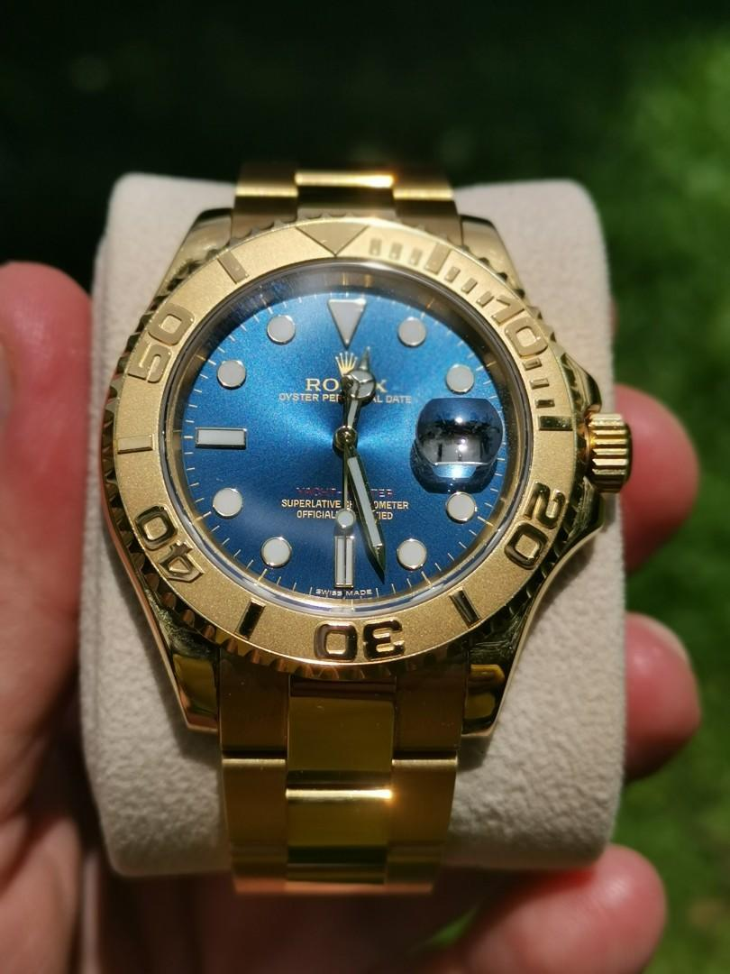 Full gold Rolex Yachtmaster 16628