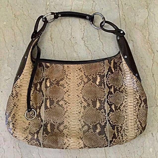 Genuine Python Bag Made in Italy