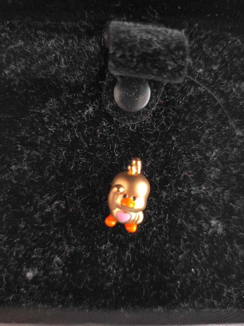 999 cute Gold charm