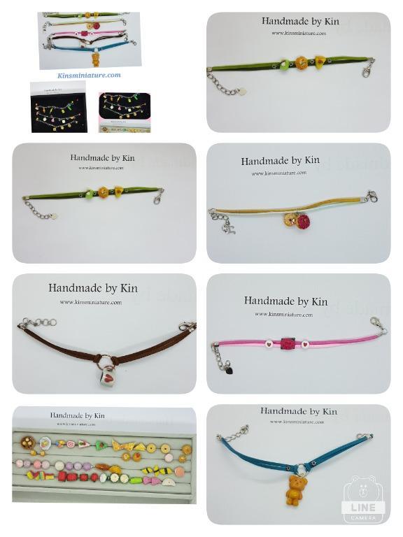 Handmade Miniature Food Wearable Bracelet