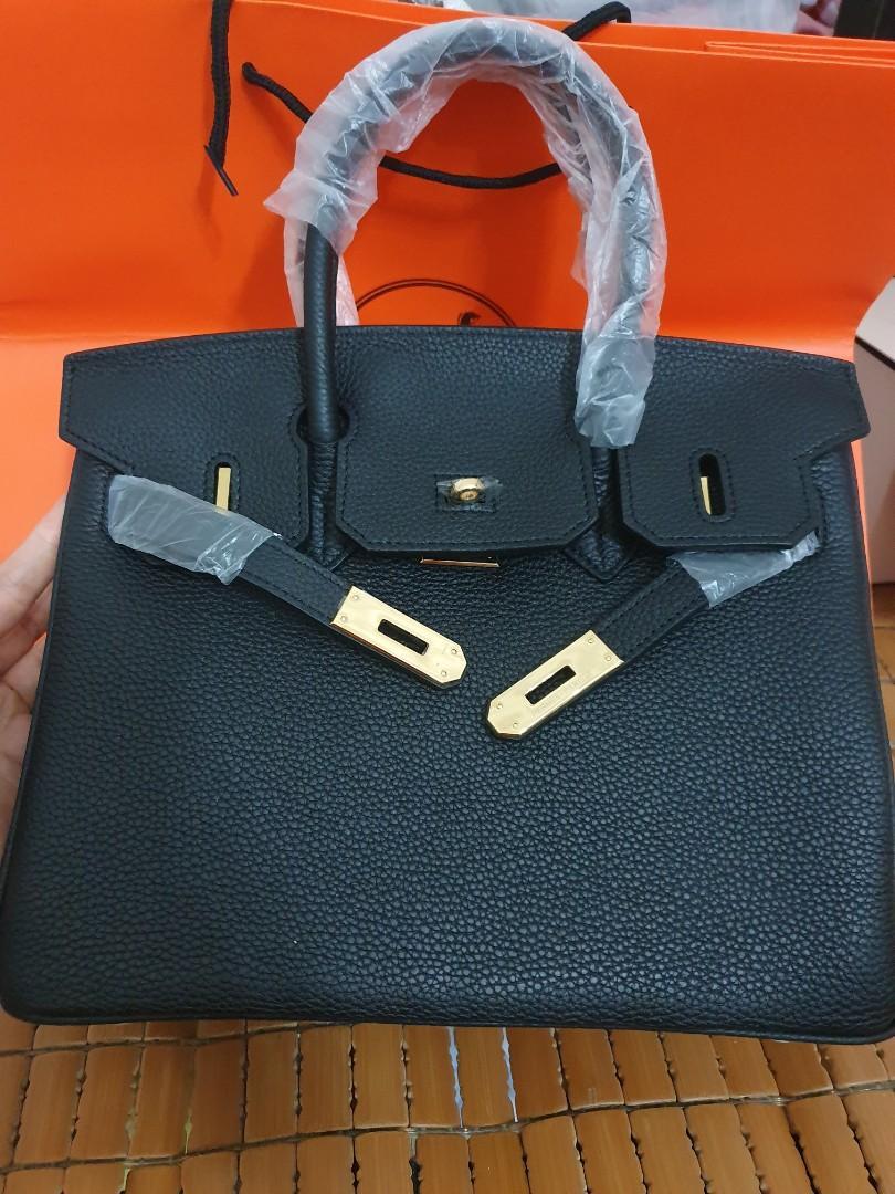 Hermes Birkin 30 black bag