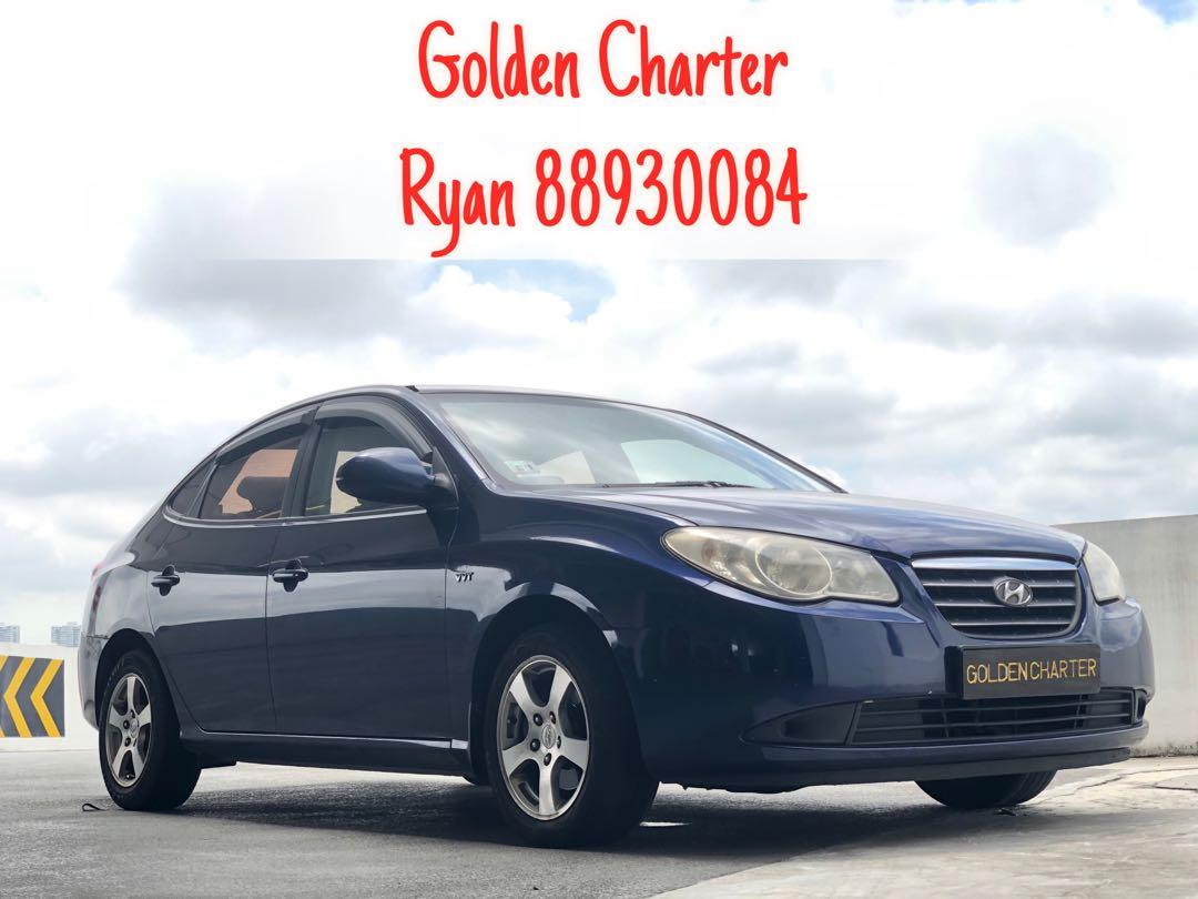 Hyundai Avante For Rental ! Contact 88930084