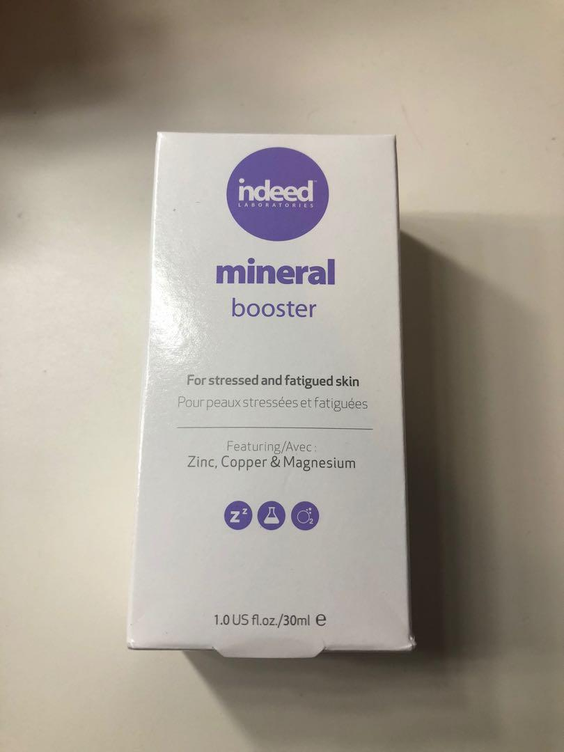 Indeed mineral booster serum
