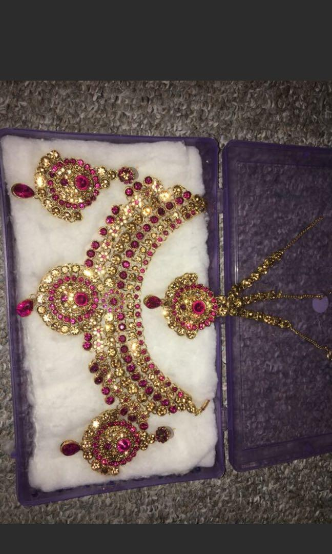Indian style necklace sets