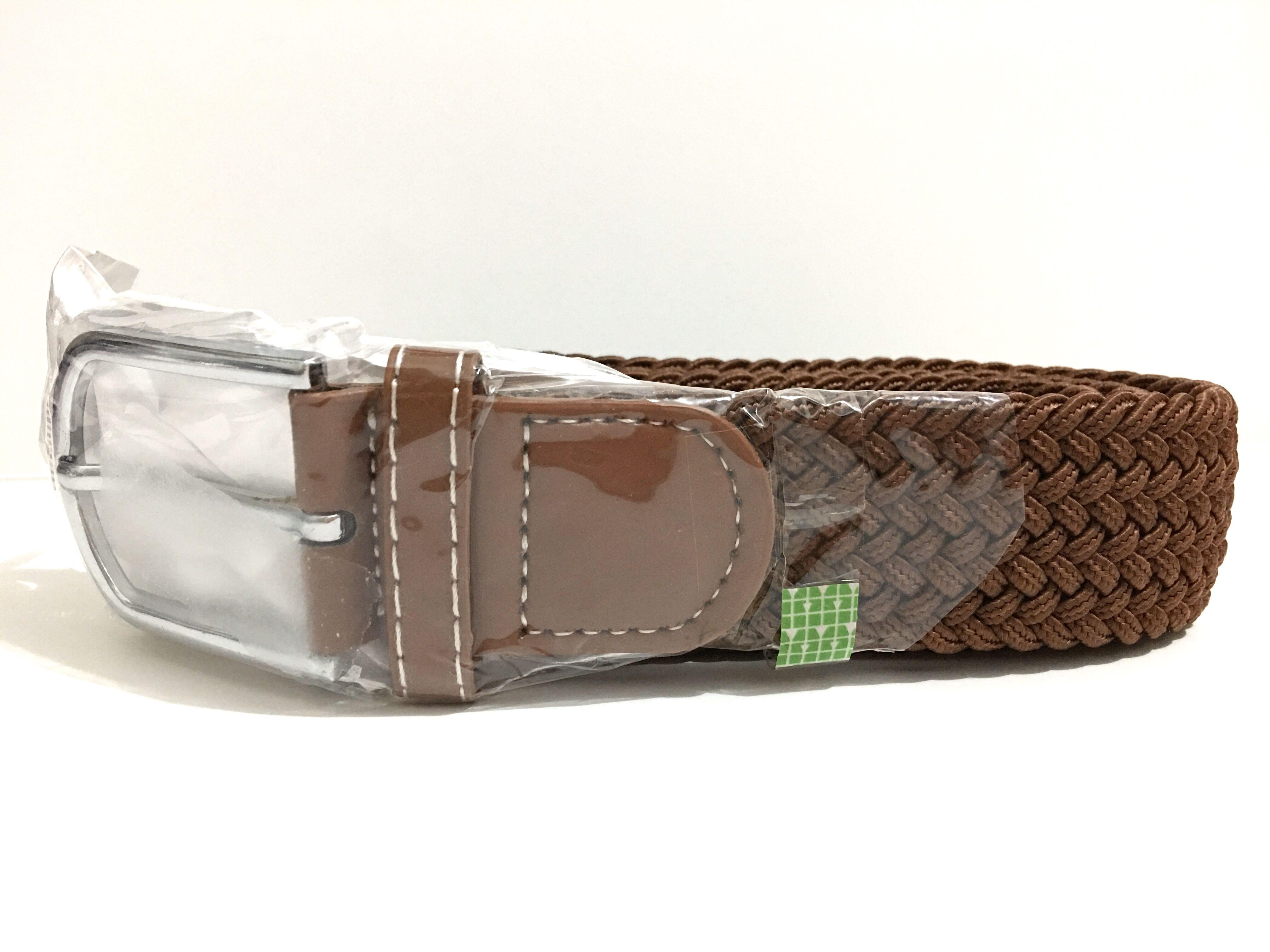 [Instock] BN Men Travel Casual-Smart Weaved Belt