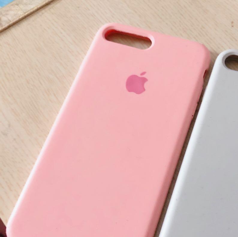 Iphone8+液態手機殼(粉)