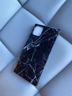iPhone 11 Pro Max Black Marble Case