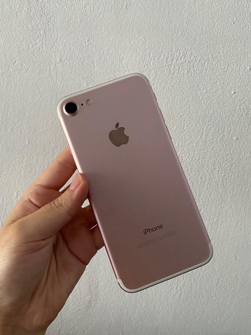 IPhone 7 256GB  玫瑰金