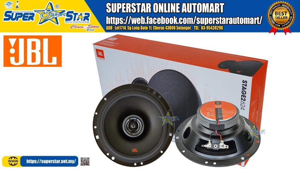 Jbl Stage2 624 6 1 2 160mm Two Way Coaxial Car Speaker Auto Accessories On Carousell