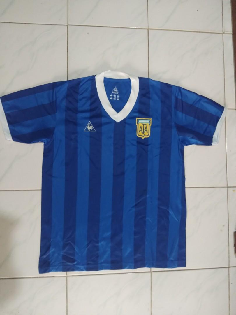 Jersey Argentina world cup 1986