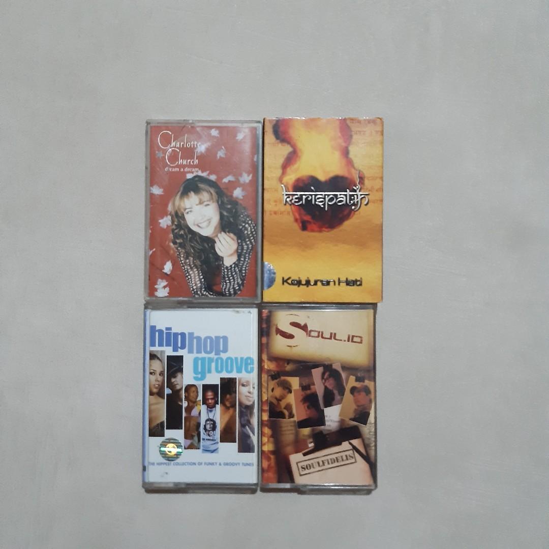 Kaset Pita Original Buat Koleksi / Bundling