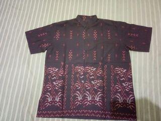 Kemeja pria batik size XL