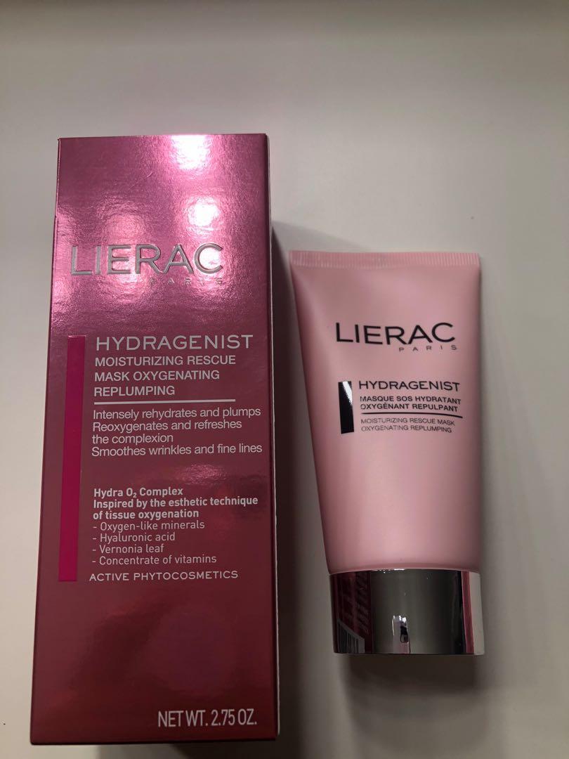 Lierac hydrating mask